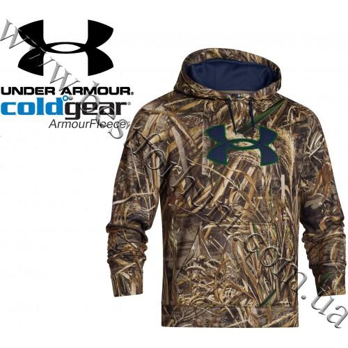 Under Armour® Armour Fleece® Big Logo Camo Hoodie Realtree MAX-5®