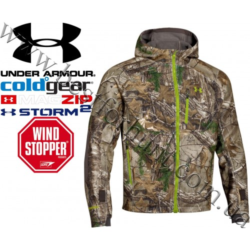 Under Armour® Storm WINDSTOPPER® Camo Jacket Realtree Xtra®