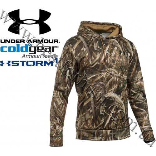 Under Armour® UA Storm Armour Fleece® Hunting Camo Hoodie Realtree MAX-5®