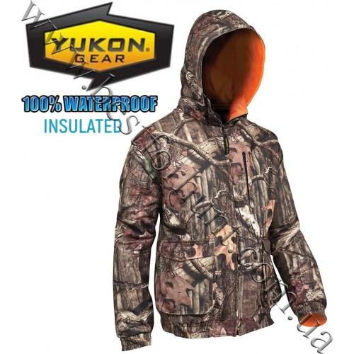 Yukon Gear® Reversible Insulated Jacket Mossy Oak® Break-Up® Infinity™-Blaze Orange