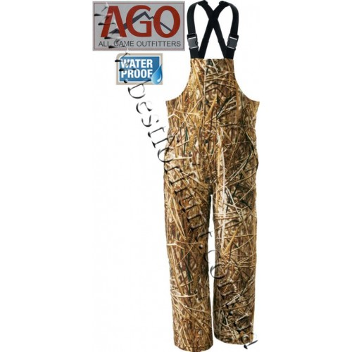 A.G.O. Waterfowl Insulated Bibs Seclusion 3D® Backwaters®