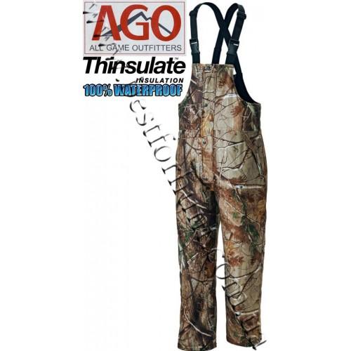 A.G.O. Waterproof Insulated Bibs Realtree AP®