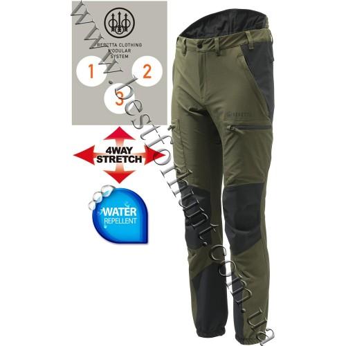 Beretta® 4 Way Stretch Pro Pants CU692 Green
