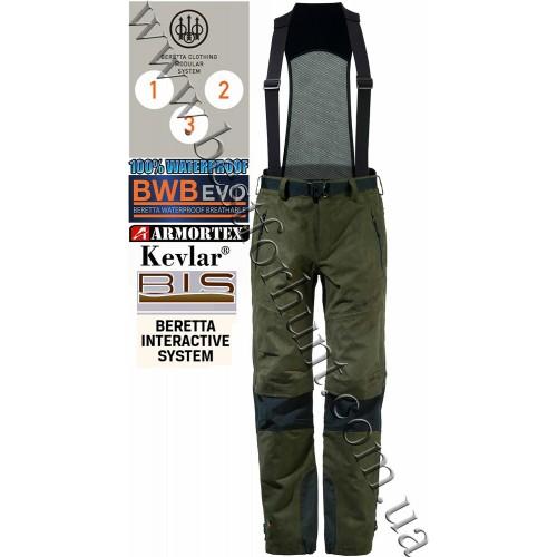 Beretta® Active Mars Suspender Pants CU271 Green