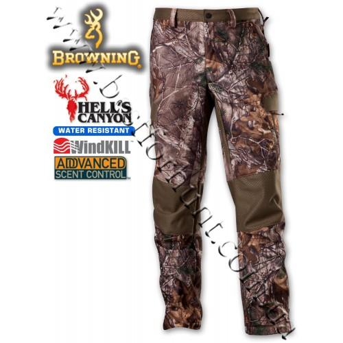 Browning® Hell's Canyon™ Soft Shell Hunting Pant Realtree Xtra®