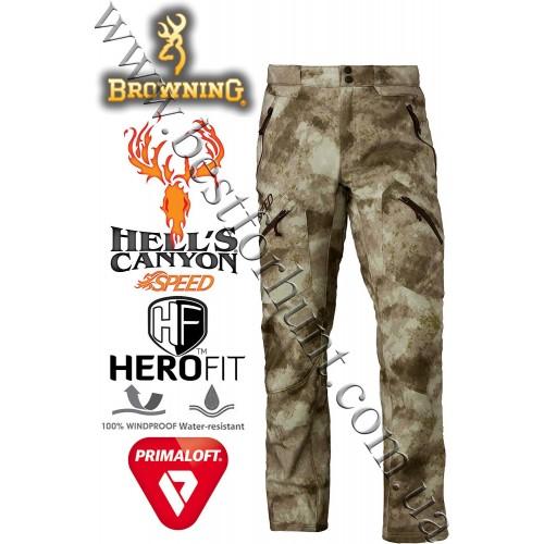 Browning® Hell's Canyon™ Speed Hellfire Pant A-TACS AU Camo™