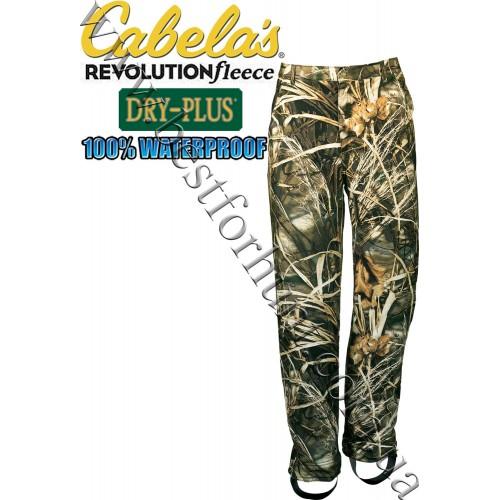 Cabela's Revolution™ Fleece Dry-Plus® Waterfowl Pants Realtree MAX-4®