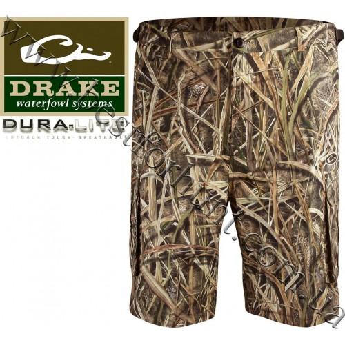 Drake Waterfowl Dura-Lite™ Cargo Short Mossy Oak® Shadow Grass® Blades™