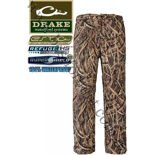 Drake Waterfowl EST Waterproof Six Pocket Pants Mossy Oak® Shadow Grass® Blades™
