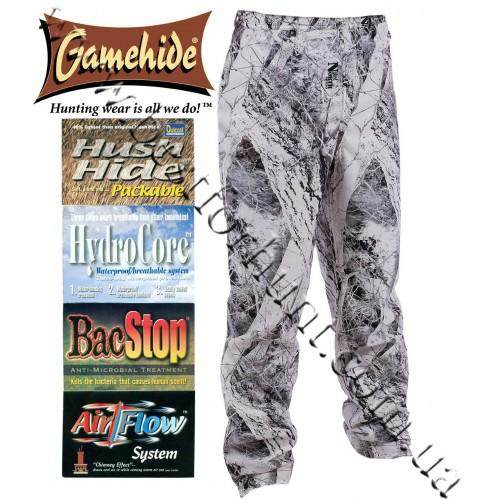 Gamehide® Journey™ Hush Hide® Waterproof Camo Pants Naked North® Snow