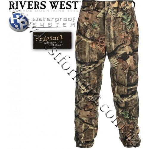 Rivers West® Frontier™ Midweight Waterproof Fleece Pants Mossy Oak® Break-Up® Infinity™