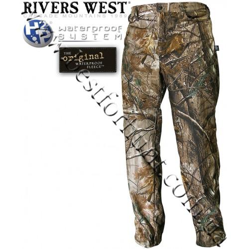 Rivers West® Frontier™ Midweight Waterproof Fleece Pants Realtree AP®