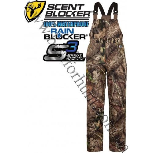 ScentBlocker® Drencher S3™ RainBlocker® Bib Mossy Oak® Break-Up® COUNTRY™