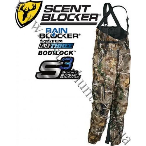 ScentBlocker® Outfitter™ RainBlocker® Bibs Realtree AP®