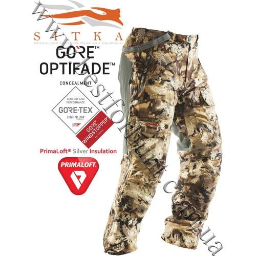 Sitka® Gear Boreal Bib Pant GORE™ OPTIFADE™ Concealment Waterfowl Marsh