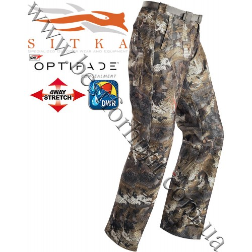 Sitka® Gear Grinder Pant GORE™ OPTIFADE™ Concealment Waterfowl Timber