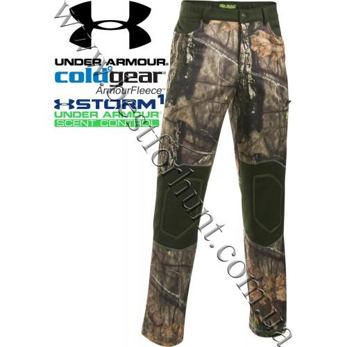 Under Armour® ColdGear® Scent Control Fleece Pants Mossy Oak® Break-Up® COUNTRY™