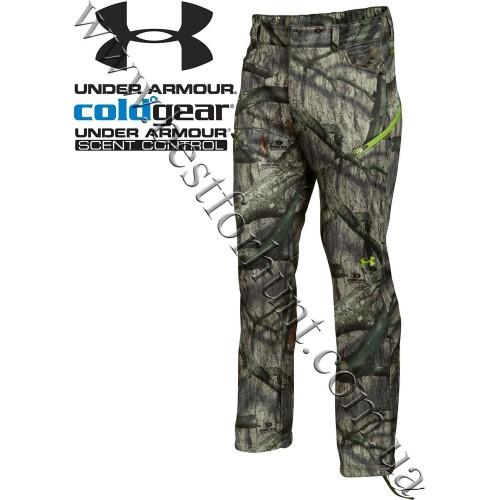 Under Armour® ColdGear® Scent Control Pants Mossy Oak® Treestand®