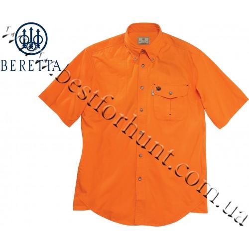 Beretta® Short Sleeve Shooting Shirt LU20 Orange