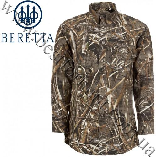Beretta® Signature Long Sleeve Shooting Shirt LU19 Realtree MAX-5®