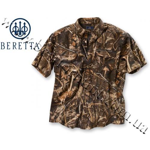 Beretta® Signature Short Sleeve Shooting Shirt Realtree MAX-4®