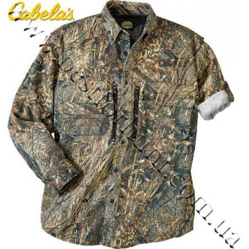 Cabela's Waterfowl Guide Shirt Mossy Oak® Duck Blind®