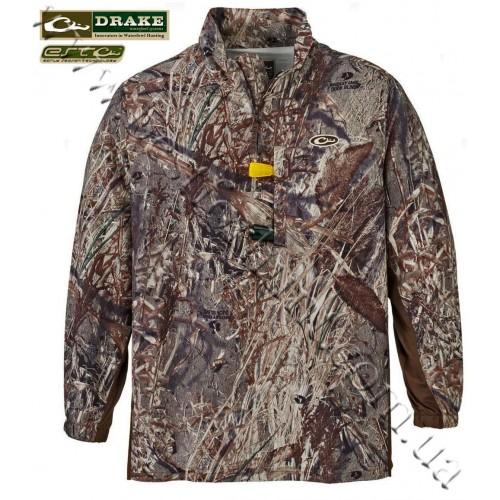 Drake Waterfowl EST 1/4 Zip Pullover Mossy Oak® Duck Blind®