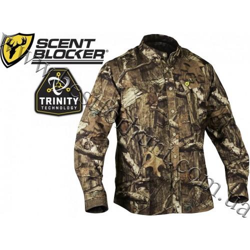 ScentBlocker® Trinity™ Featherlite® Shirt Mossy Oak® Break-Up® Infinity™