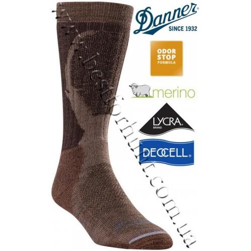 Danner® Pronghorn Pro Midweight Hunting Socks Dark Brown