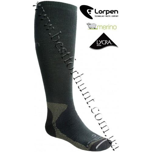 Lorpen Merino Wool Heavyweight Hunting Socks Conifer