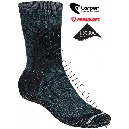 Lorpen PrimaLoft® Mid Heavyweight Hunting Socks Dark Green