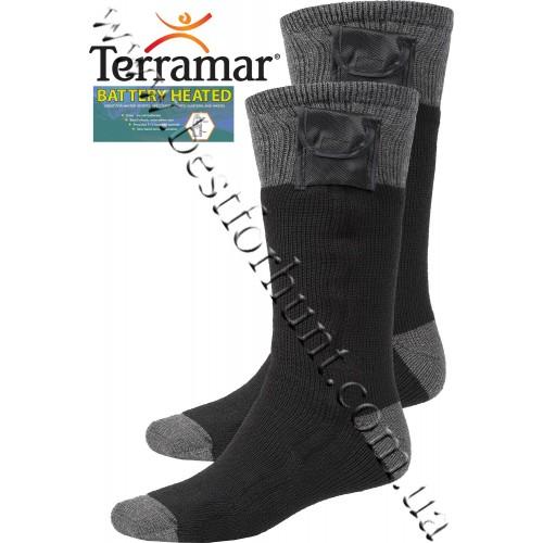 Terramar® Heavyweight Battery Heated Socks Black