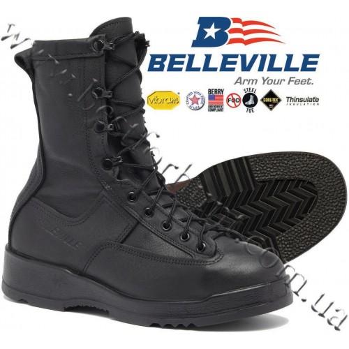 Belleville® 200g Insulated GTX® Waterproof Steel Toe Boot 880 ST Black