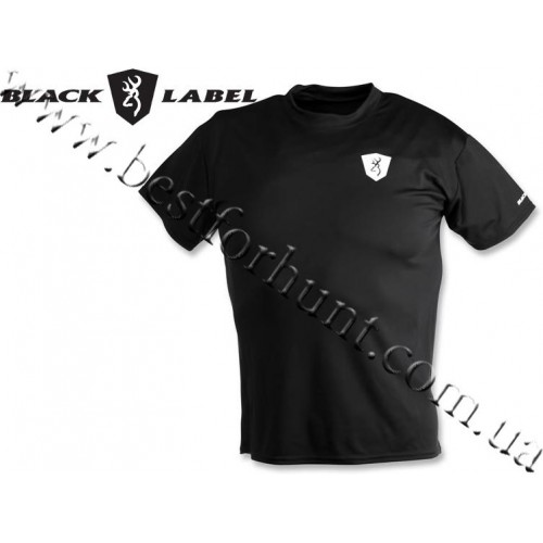 Browning® Black Label™ Performance Short Sleeve T-Shirt Black