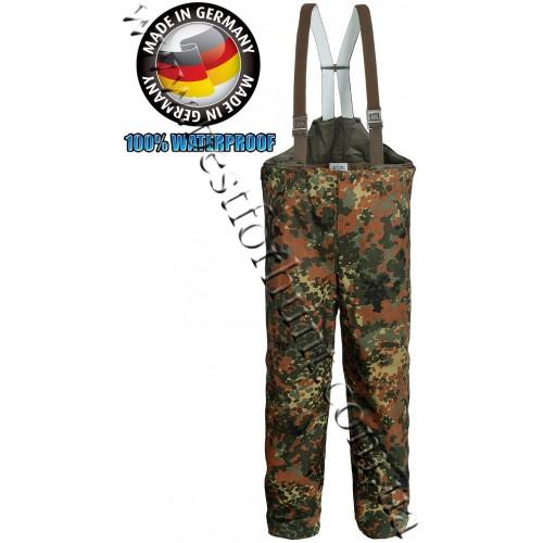 German Army Waterproof Removable Liner Camo Bib