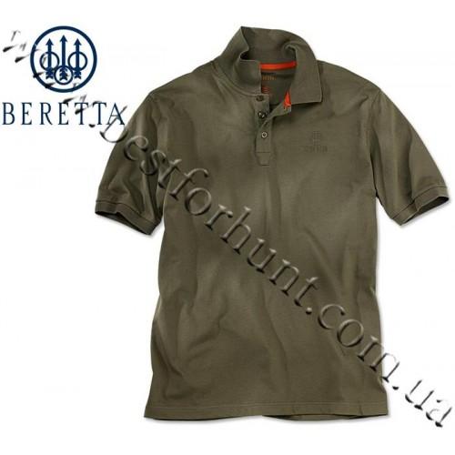 Beretta® Corporate Signature Polo MP02 Green Olive