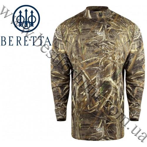 Beretta® Mock Turtleneck Long Sleeve Shirt Realtree MAX-5®