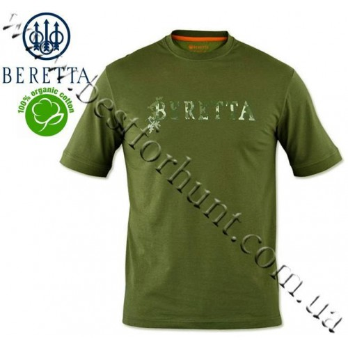 Beretta® Sport Safari T-Shirt Jungle Green