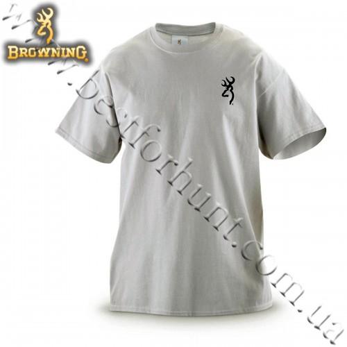 Browning® Black Lab Short Sleeve T-Shirt Silver