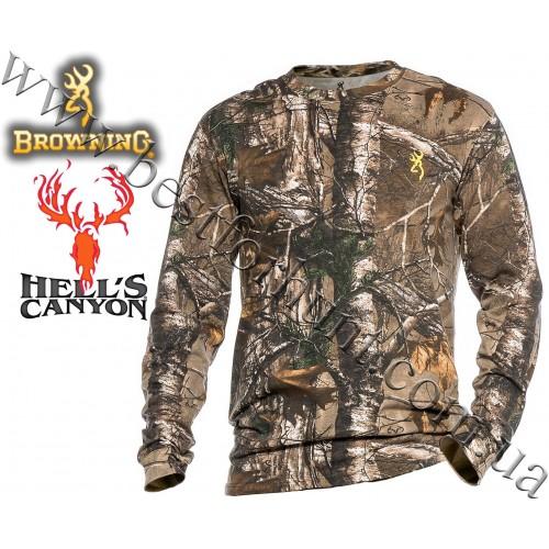 Browning® Hell's Canyon™ Basics Long Sleeve T-Shirt Realtree Xtra®