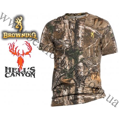 Browning® Hell's Canyon™ Basics Short Sleeve T-Shirt Realtree Xtra®