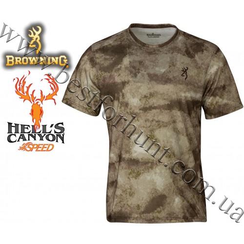 Browning® Hell's Canyon™ Speed Kills Short Sleeve Tee A-TACS AU Camo™