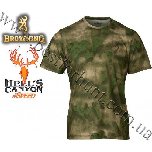 Browning® Hell's Canyon™ Speed Kills Short Sleeve Tee A-TACS FG Camo™