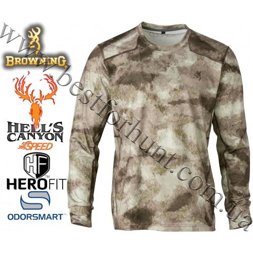 Browning® Hell's Canyon™ Speed Plexus Long Sleeve Mesh Shirt A-TACS AU Camo™
