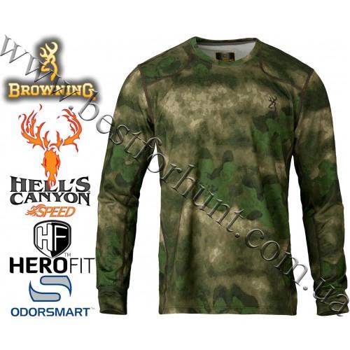 Browning® Hell's Canyon™ Speed Plexus Long Sleeve Mesh Shirt A-TACS FG Camo™