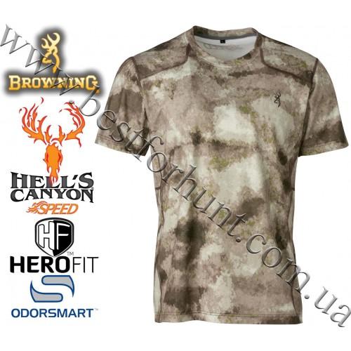 Browning® Hell's Canyon™ Speed Plexus Short Sleeve Mesh Shirt A-TACS AU Camo™
