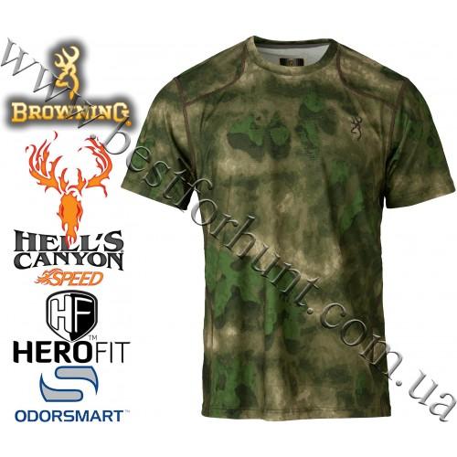 Browning® Hell's Canyon™ Speed Plexus Short Sleeve Mesh Shirt A-TACS FG Camo™