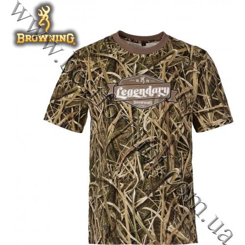 Browning® Legendary Graphic Camo T-Shirt Mossy Oak® Shadow Grass® Blades™