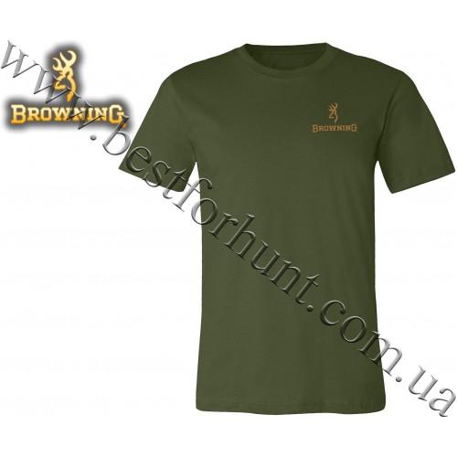 Browning® Pheasant Buckmark T-Shirt Olive