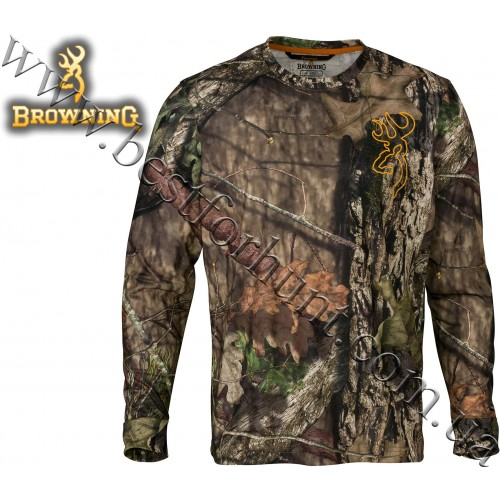 Browning® Sunset Long Sleeve Tee Mossy Oak® Break-Up® COUNTRY™